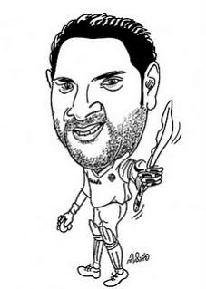 Yuvraj singh Cartoon