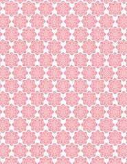 LETTER/STANDARD size JPG poinsettia small batik flower Snowflakes 350dpi