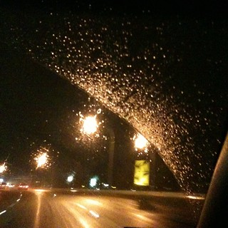 Rainy ride home