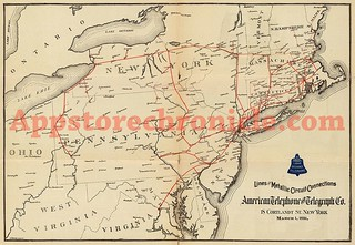 AT&T 19th Century Coverage Map