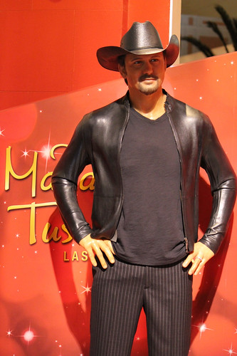 Tim McGraw wax