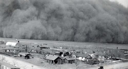 Dust Storm. Rolla, Kansas 1935