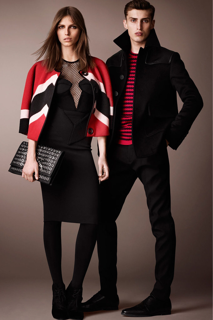 Charlie France0295_Burberry Prorsum's Pre-Fall 2013 Collection(Homme Model)