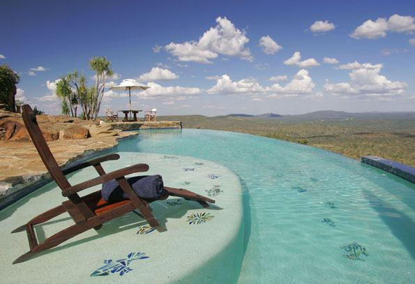 ロイサバホテルのプール