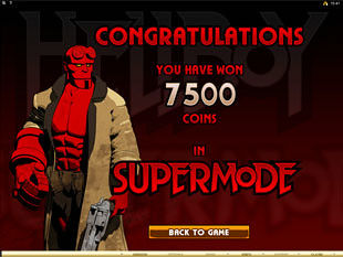 Hellboy Bonus Game