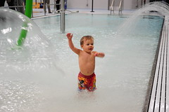 child, fun, swimming pool, water, play, leisure, bathing, vacation, water park,