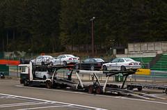 Circuit de Spa Francorchamps - Chargement de BMW M3