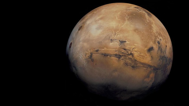 Mars-valles marineris