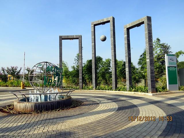 Main Entrance - Mont Vert Vesta, Urawade Pirangut, Goan Fiesta 15th & 16th December 2012