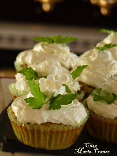 Cupcakes aux sardines