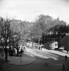 Trams in Gävle 1946