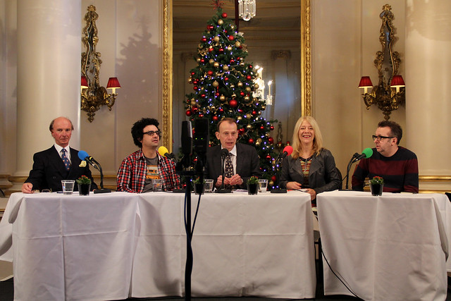 A recording of BBC Radio Four's Start the Week. © ROH / 2012