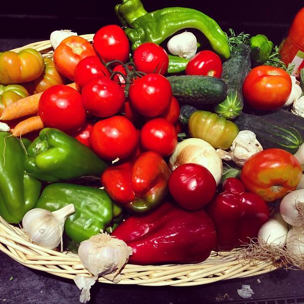Bodegón de verdura