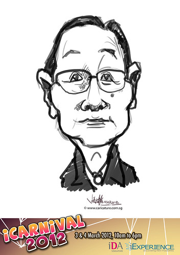 digital live caricature for iCarnival 2012  (IDA) - Day 1 - 68