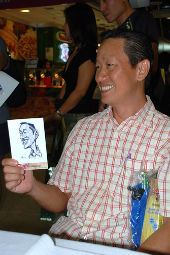 digital live caricature sketching for iCarnival (photos) - Day 2 - 66