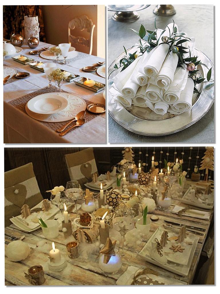 Decoración mesas navidad