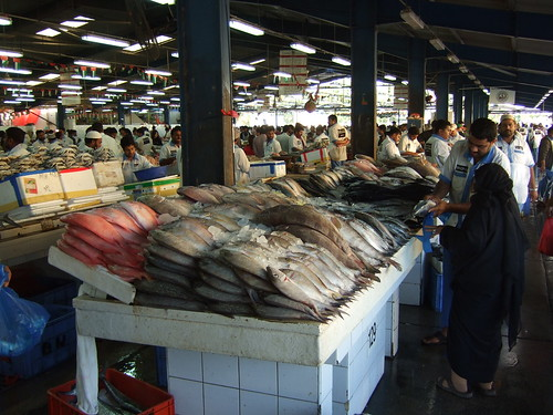 eastcoastwestcoast: Dubai Winter Fun List: Fish Market in Deira