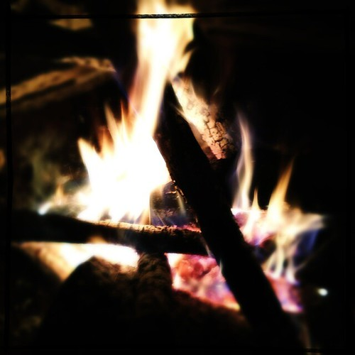 Cleansing winter fire
