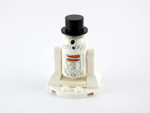 Day 23 - R2-D2 Snowman