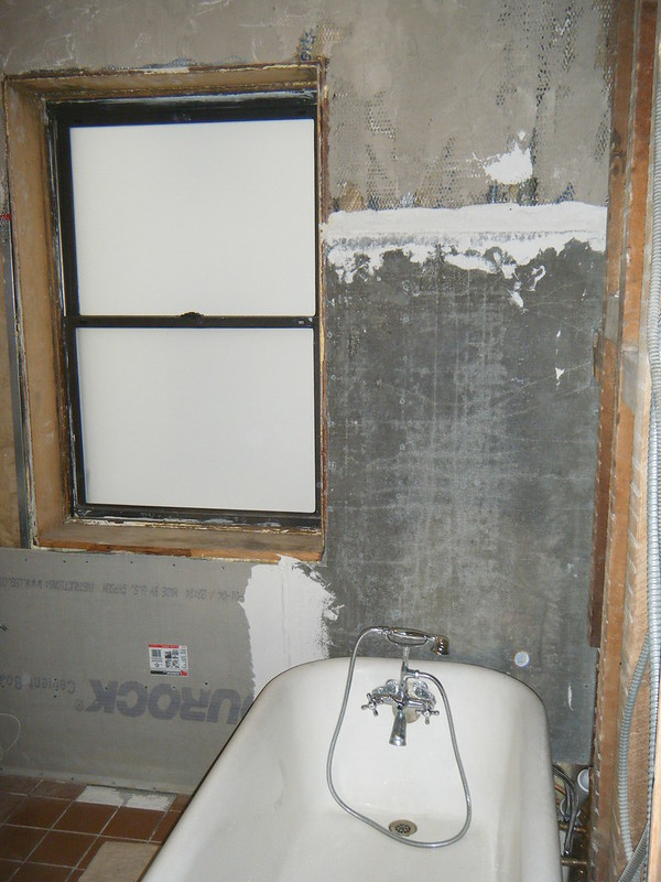 Bathroom cement board
