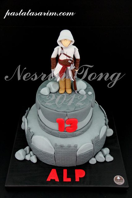 assensins creat cake (Medium)