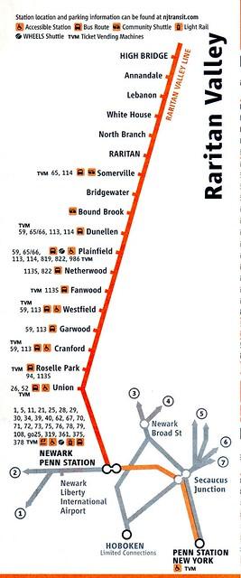 NJT RVL 11-2010 Map