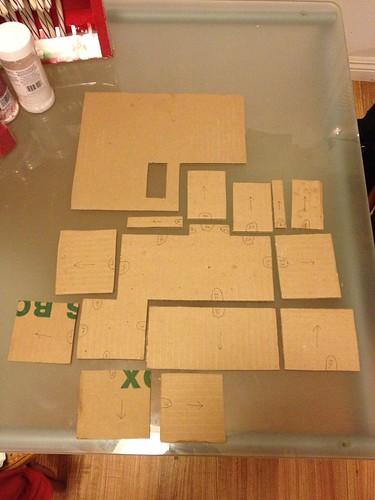 Cardboard templates