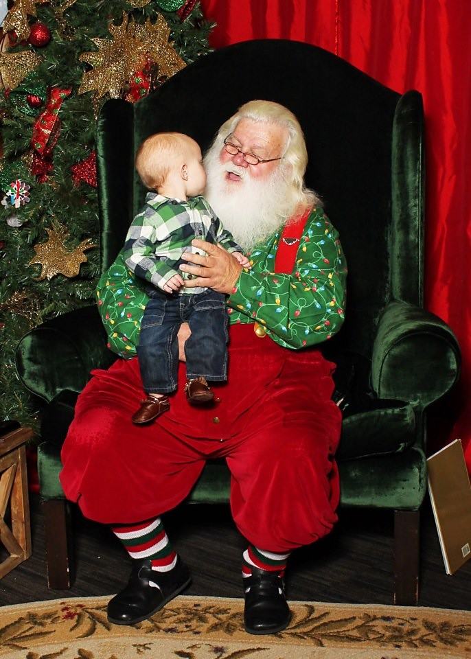 Andrew with Santa 2