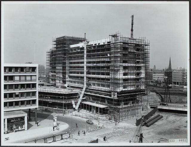Hilton hotel bouw ca 1963