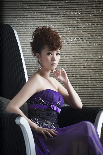 [フリー画像素材] 人物, 女性 - アジア, ワンピース・ドレス ID:201301021400