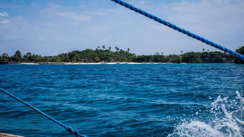 Приближаемся к пляжам острова Боракай