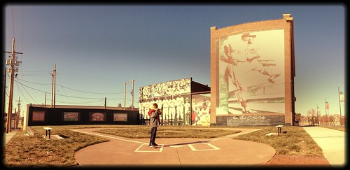 Kansas City Wiffle Ball Field. 19th & Paseo