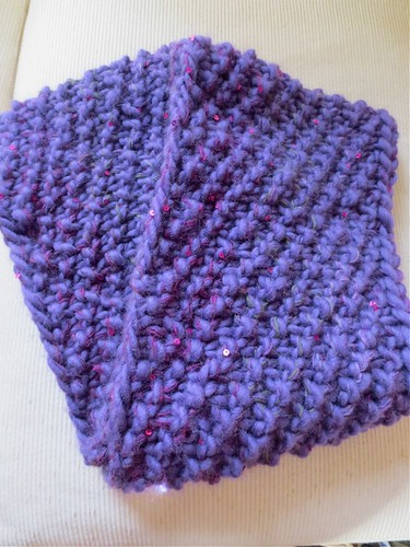 Knitting Patterns Scarf Size 19 Needles : Just Crafty Enough   Project: Circle Scarf