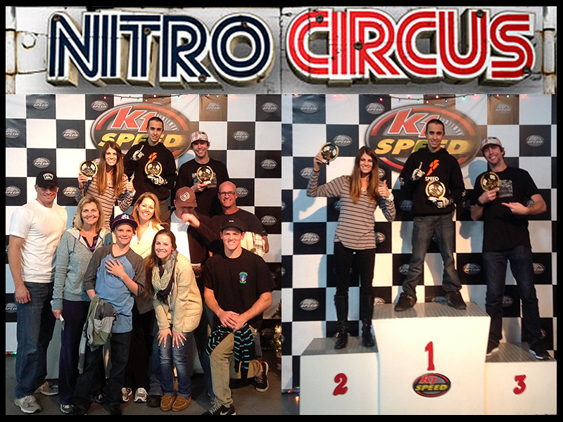 8315258158 db6d227545 b Travis, Lyndsey Pastrana and Nitro Circus family at K1 Speed!
