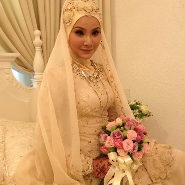 Gambar Nikah Apex Leuniey Kahwin-cantik