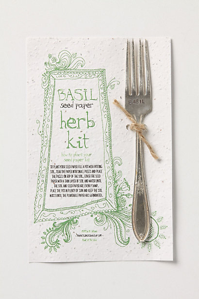 Efforlessly Sewn Herb Kit