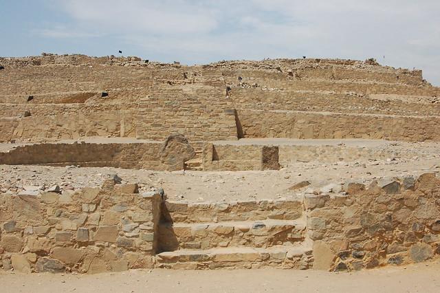 Pyramid at Caral
