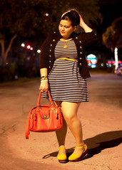 Striped Dress & flatforms