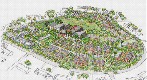 planned revitalization, Renton, WA (courtesy of City of Renton)