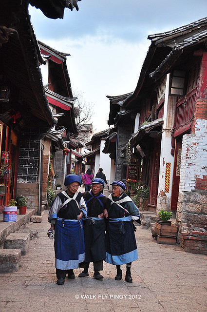 Naxi Women, Lijiang, Yunnan, China