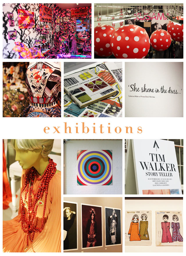 exhibitions i saw in 2012