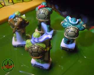 PRIME :: TORTUES NINJA  porcelain miniature prototypes iii (( 2009 ))
