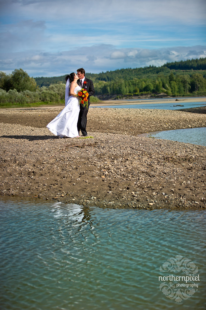 Northern BC Wedding Cottonwood Island Park Destination