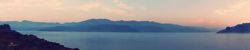 trees winter panorama mist mountains nature water fog clouds start sunrise landscape photography dawn boat twilight nikon dj day pano first explore again rivers gary welcome tamron f28 pune girish mulshi 2875mm 2013 suryawanshi d7000
