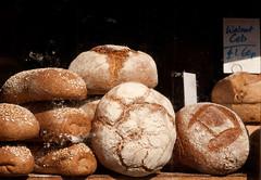 Loaves in shop window