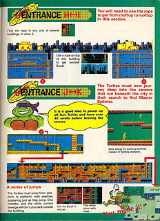 "NINTENDO POWER ::  MAY/JUNE 1989 // Vx p.15 "" TEENAGE MUTANT NINJA TURTLES "" { original review }"