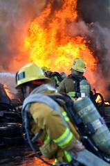 OUTSIDE FIRE - PACOIMA