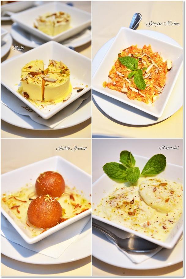 Indian Desserts @ Tandoor Grill