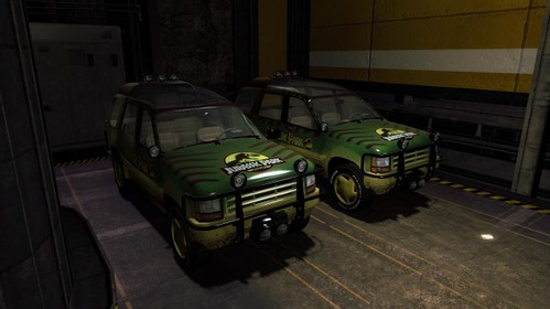 Jurassic Mod Half Life 2