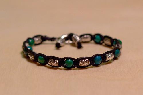 Australian Jasper Stone & metal beads